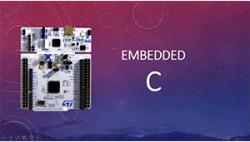 دوره آموزش زبان برنامه نویسی Embedded C